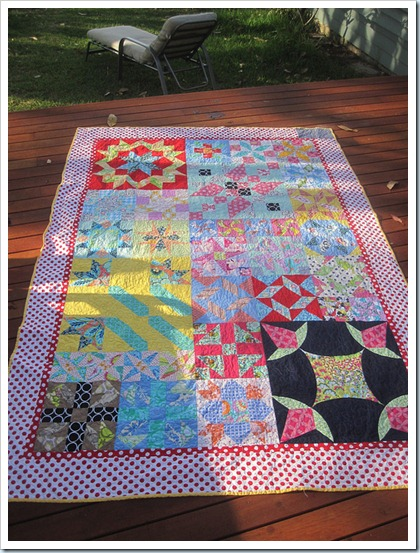 Nessa twin quilt