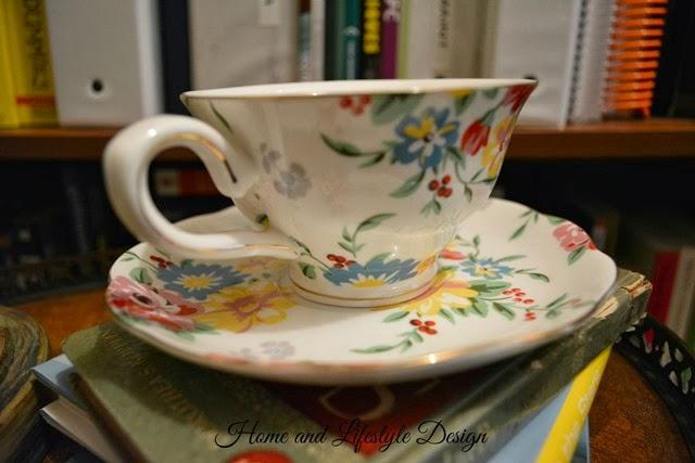 flowering teacup