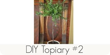 DIY topiary #2