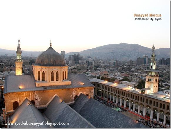 Masjid Umayyad – Damascus, Syria