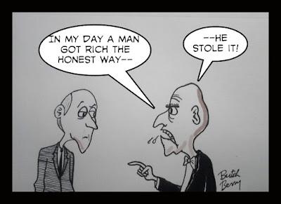 cartoon by Butch Berry
