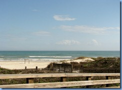 7282 Texas - PR-22 (South Padre Island Dr) - Padre Island National Seashore - Malaquite Visitor Center - Gulf of Mexico