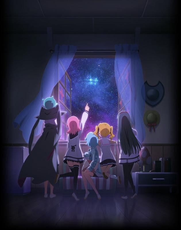 Hōkago no Pleiades anime