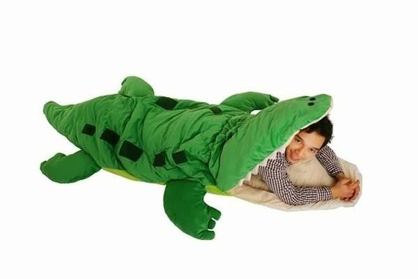 weird sleeping bag
