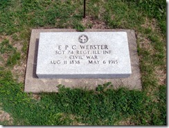 Ebenezer Perry Carlisle Webster Tombstone from Findagrave