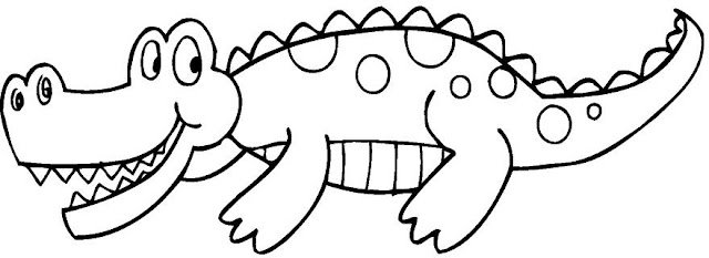 Alligator Coloring Pages Aligator Coloring Pages