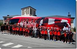 Nuevo autocar del Atlético de Madrid