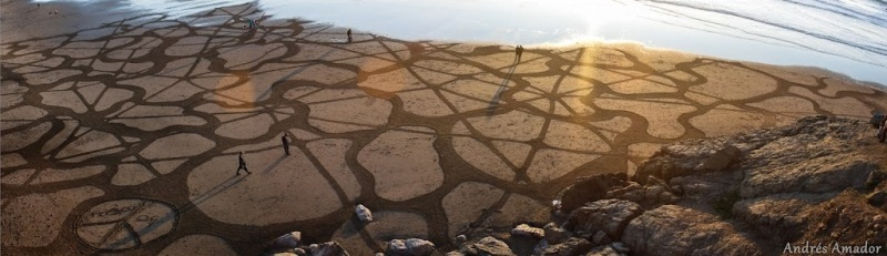 playa painting- substructures II