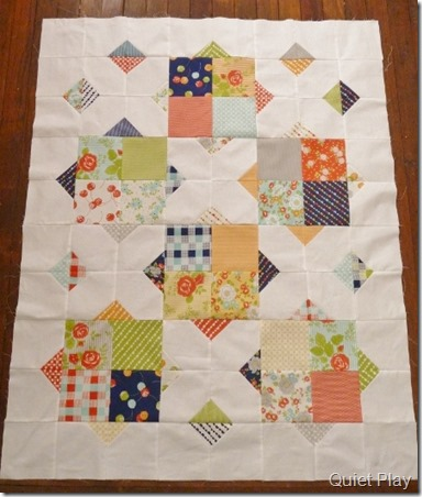 Briar Rose pattern in Happy Go Lucky