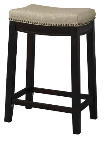 nailhead counter stool