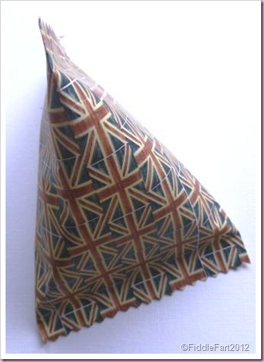 Union jack Diamond Jubilee favour