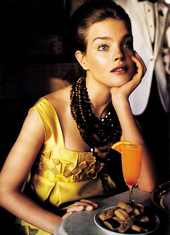 vogue us july 2005 vodianova