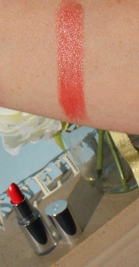Clarins-Jolie-Rouge-Brilliant-Coral-Dahlia-swatch-swatches-sheer-lipstick