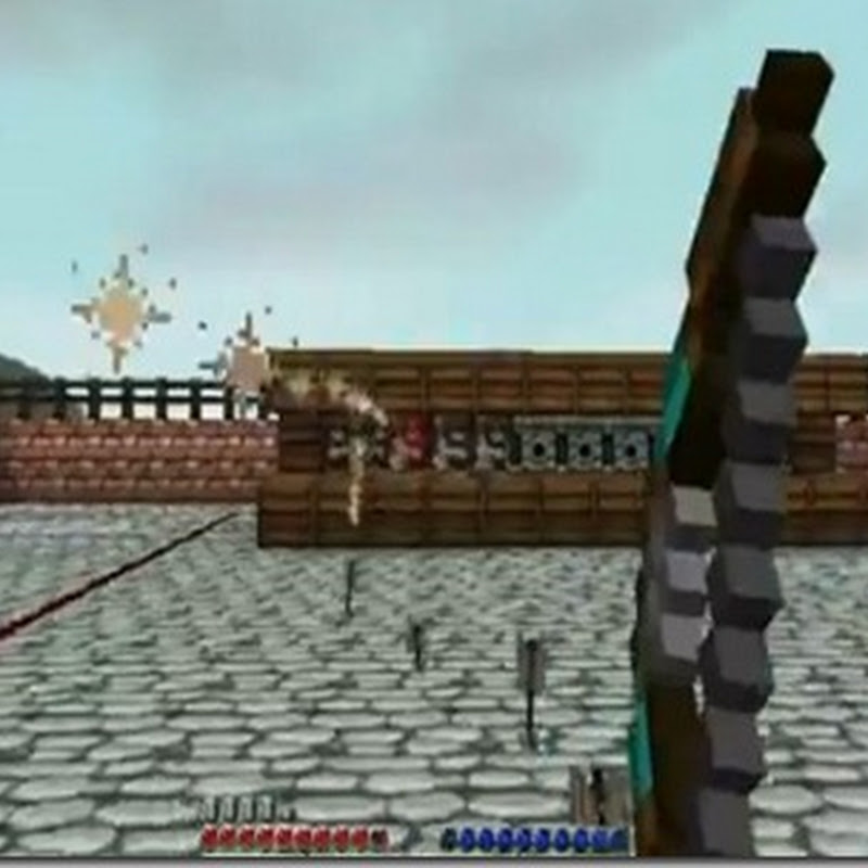 Minecraft 1.4.7 - Rapid Fire Bow Mod