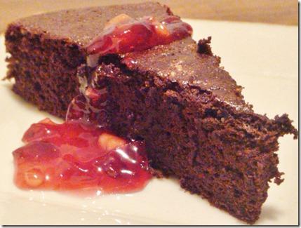 bittersweet chocolate cake 038