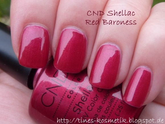 CND Shellac Red Baroness 2