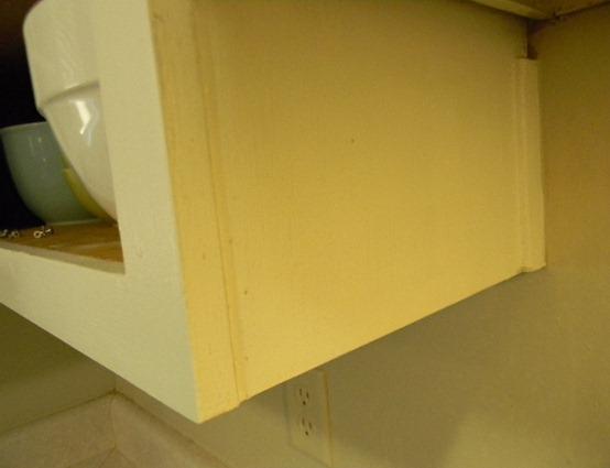 cabinet after sanding