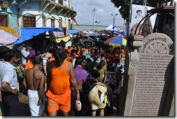 varanasi 095 foule à Dasawamedh ghat