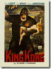 Cartel de la película «King Kong» de 1933