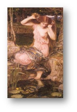 Lamia. John Willian Waterhouse