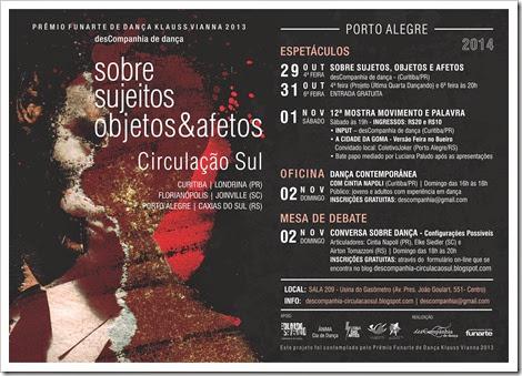 Flyer Eletrônico Porto Alegre