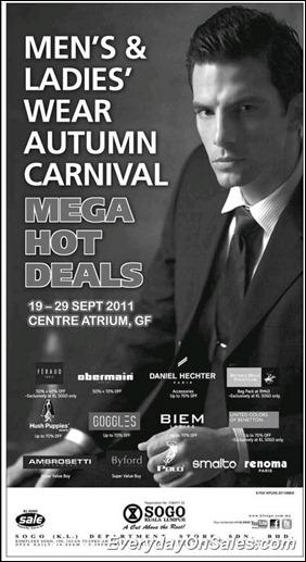 sogo-kl-mens-ladies-wear-autumn-carnival-mega-hot-deals-2011-EverydayOnSales-Warehouse-Sale-Promotion-Deal-Discount
