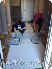 Stenciling Instructions