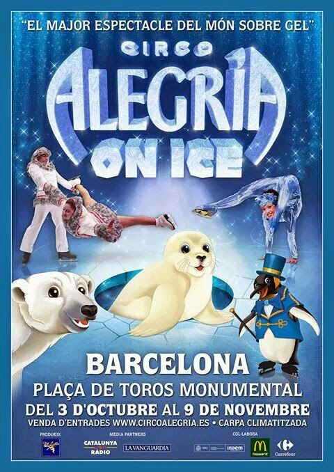 CIRCO ALEGRIA ON ICE EN BARCELONA