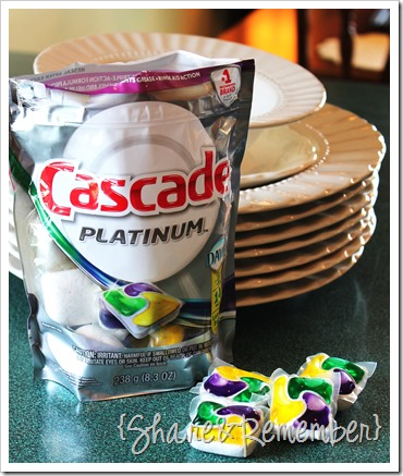 Cascade Platinum Pacs soap & dishes