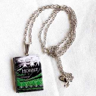 The Hobbit Book Locket by Junk Studio