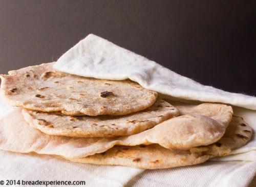 Chapatis aka Rotis (Indian Flatbread) #BreadBakingBabes