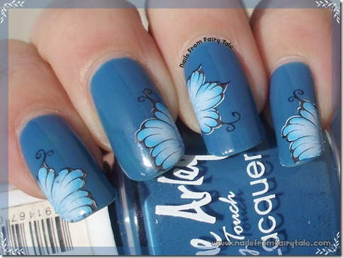 water decals flower 4