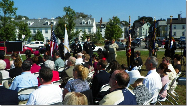 Honor Guard, James Ayube Roadway Memorial Dedication