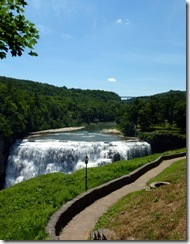 Middle Falls at Letchworth
