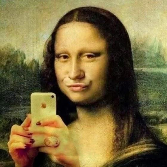 selfie-mona-lisa-facebook