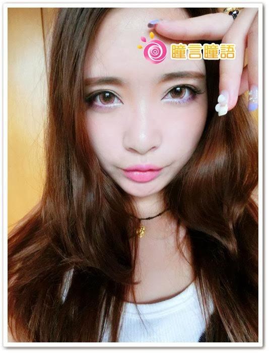 日本ROYAL VISION隱形眼鏡-蜜桃甜心粉紅17
