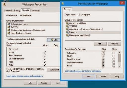 Mengatasi Access Is Denied pada Folder saat di buka