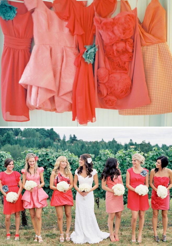 Ombre-Wedding-Trend-Bridesmaids-Dresses