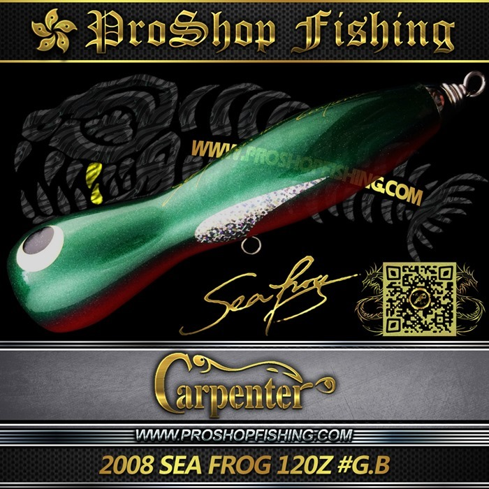 carpenter 2008 SEA FROG 120Z #G.B.3