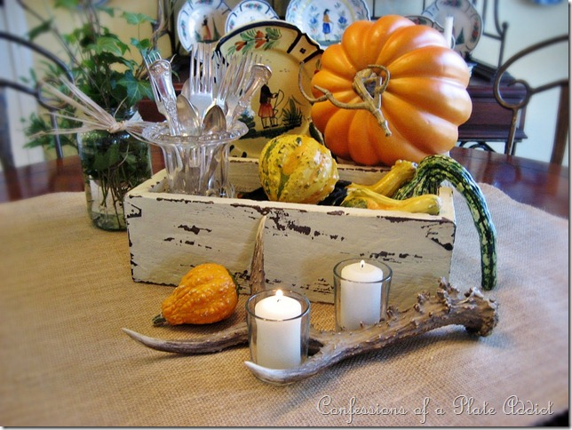 Confessions of a plate addict rustic thanksgiving
