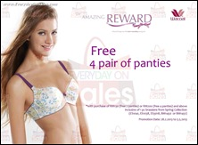 Wacoal Free Panties Promotions 2013 Branded Shopping Save Money EverydayOnSales