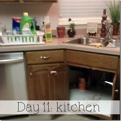 Day 11 kitchen