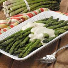 Asparagus in Mustard Sauce