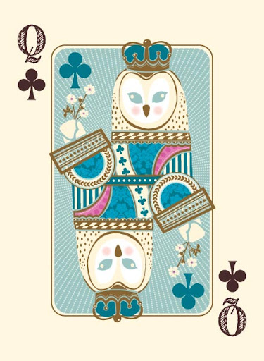 The Queen of Clubs.