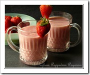 STRAWBERRY DATES SHAKE