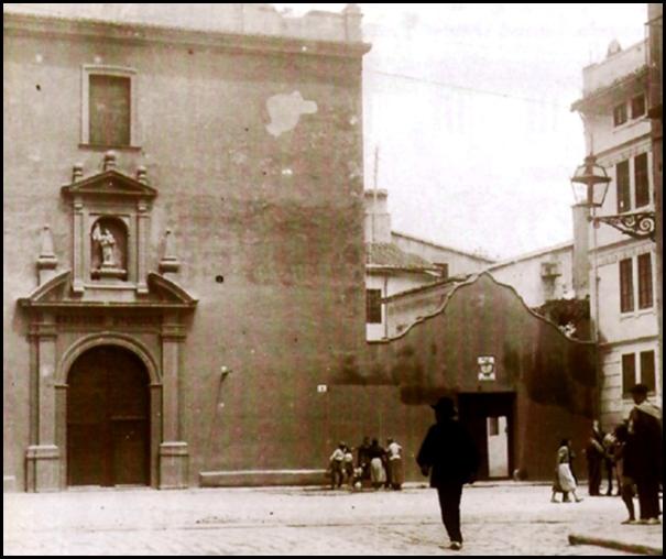 plaza santa ursula_años 50