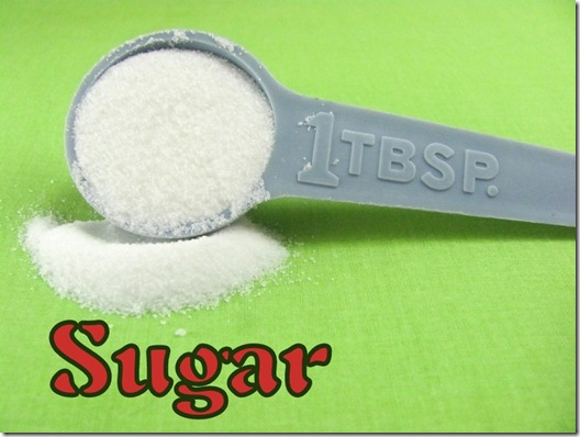 1 oz of sugar