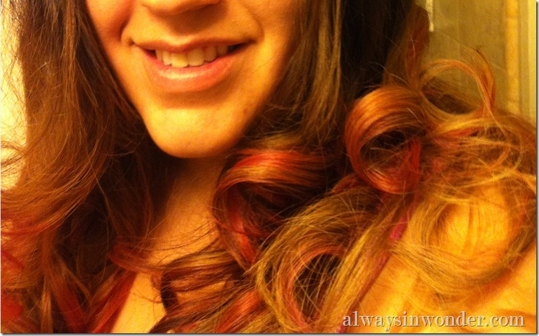 dyed hair with Tulip Tie-Dye kit (5)