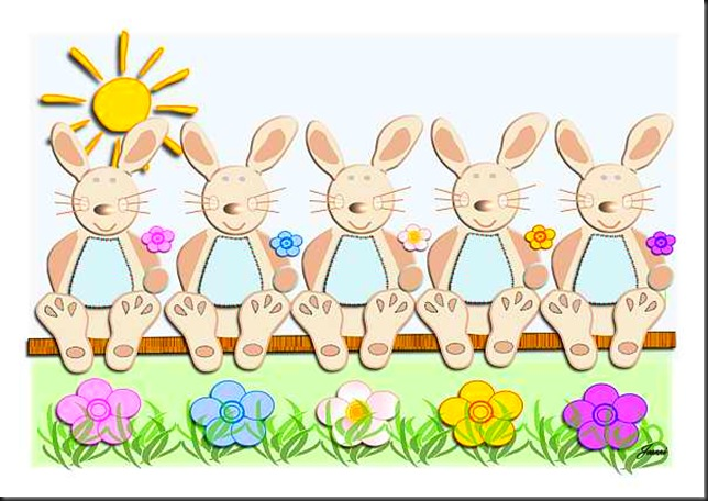 bunny five. flrs