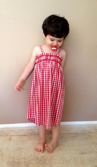 Julia vestido vichy